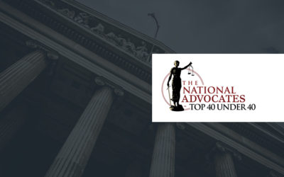 "The National Advocates: ""Top 40 Under 40"" (2016-2019)"