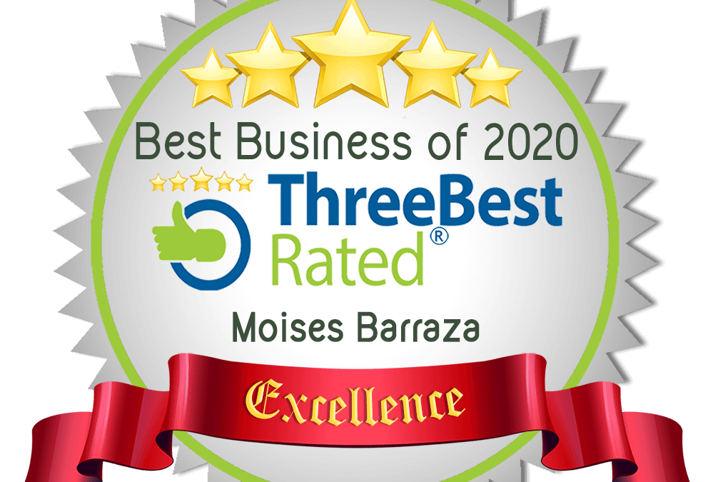 #1 Immigration Attorney in Aurora, IL and Best Business for Excellence – Three Best Rated (2017-2020)