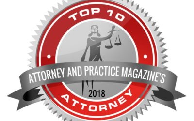 Top 10 Attorney – Attorney and Practice Magazine (2018)